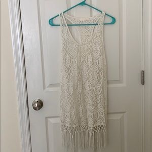 Other - Off white lace swim cover up!
